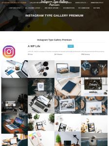 instagram type gallery