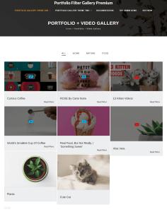 portfolio gallery premium
