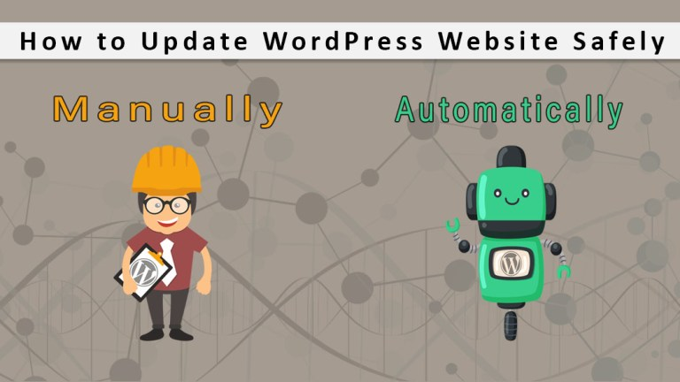 How to Update WordPress Website Safely Manually And Automatically