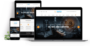 Crypto Premium WordPress Theme For Cryptocurrency Business and Blog Maouckup - A WP Life