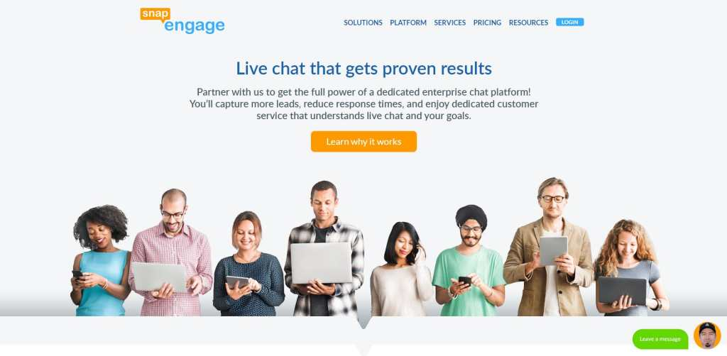 Snap Engage Live Chat Software