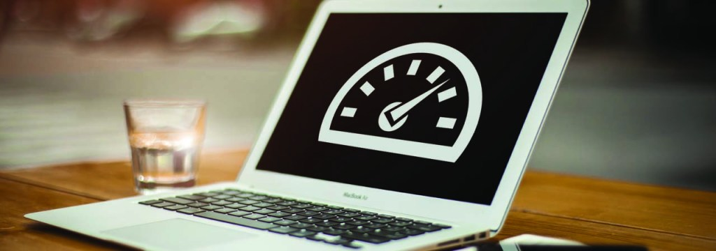 The speed of a website can be managed