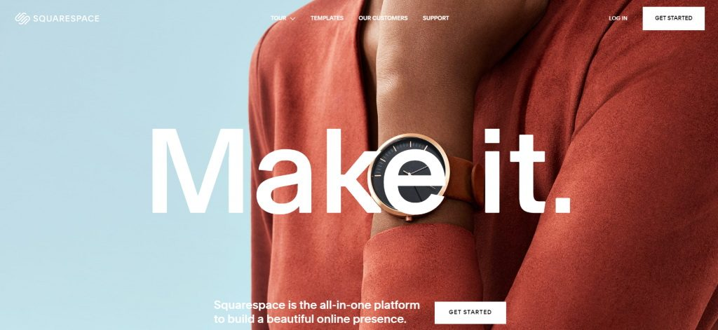 Squarespace PHP CMS