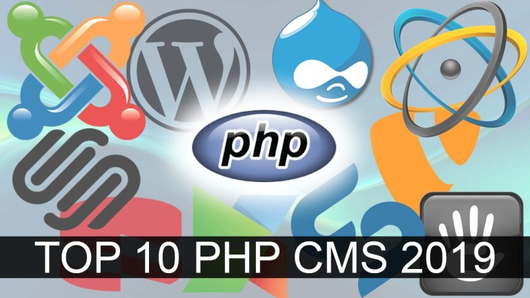 Top 10 PHP CMS 2019
