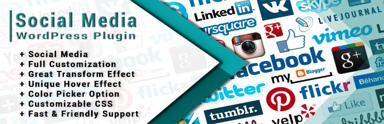 social media widget A WP life