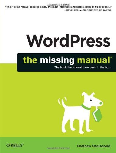 WordPress: The Missing Manual