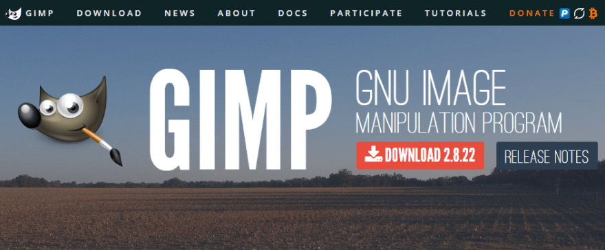 GIMP is an open-source alternative to Adobe Photoshop