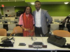 Mary Olushoga and Eyitayo Akanji