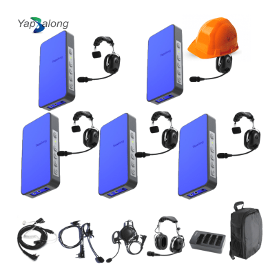 Yapalong 5000 (5-User) Industriale Complete Set Communications & IFB Intercom Systems