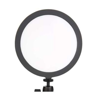 "Lishuai LED Soft light C series 200 round 7"" Bi-color 3200K-5600K for photo and video Lighting Lighting"