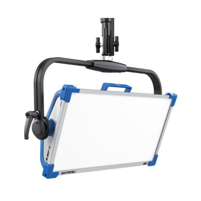 ARRI SkyPanel S60-C LED Softlight with Manual Yoke (Blue/Silver, Edison) Led Lighting Arri