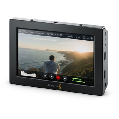 Blackmagic Design Video Assist 4K 7″ HDMI/6G-SDI Recording Monitor Monitors Black Magic