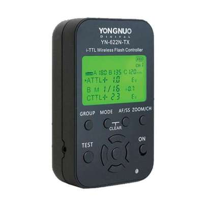 Yongnuo Yn-622N-Tx I-Ttl Wireless Flash Controller Flash Radio & Optical Slaves Photography