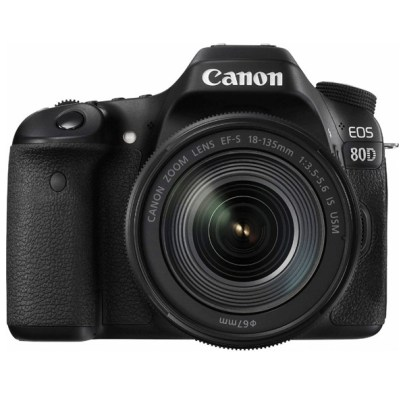 Canon EOS 80D DSLR Camera with 18-135mm Lens Dslr Camera Canon