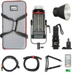 Aputure Light Storm C300d Mark II Led Light Kit With V-Mount Battery Plate Lighting Aputure