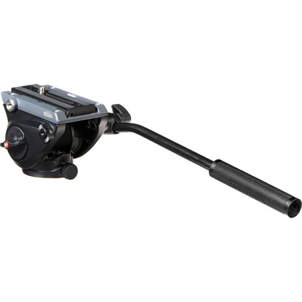 Manfrotto MVH500AH Fluid Video Head with Flat Base Photography Manfrotto