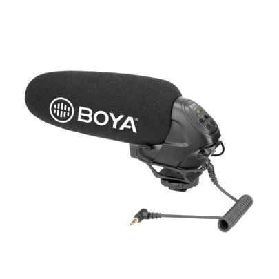 BOYA BY-BM3031 On-Camera Supercardioid Shotgun Microphone Audio audio