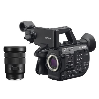 Sony Pxw-Fs5m2 4K Xdcam Super 35Mm Compact Camcorder With 18 To 105Mm Zoom Lens Pro camcorders & Cameras Pro Video