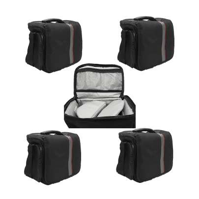 Waterproof Anti-Shock Dslr Camera Bag For Canon, Nikon, Samsung, And Sony Camera Bag -9003 Pack Of 5Pcs Camera Bags Camera Bags