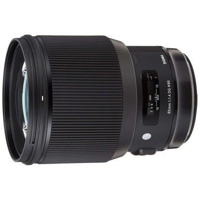Sigma Lens – 85Mm F1.4 Dg Can/Nik Lenses Digital Camera Lens