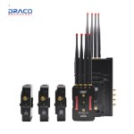 CVW BeamLink-Quad Four Transmitters to Single Receiver Video Transmission System Overview Pro Video Draco Broadcast