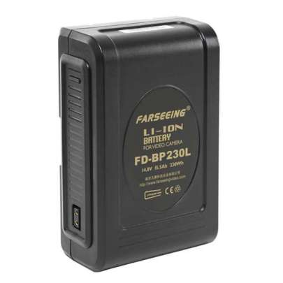 Farseeing Camera Li-Ion Battery FD-BP230L 230Wh,V Mount,Ledi Batteries & Power Battery And Charger