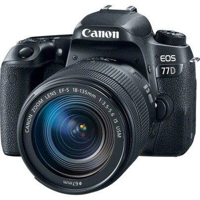 Canon Camera Eos77d 18-135 Is Usm Dslr Camera Canon