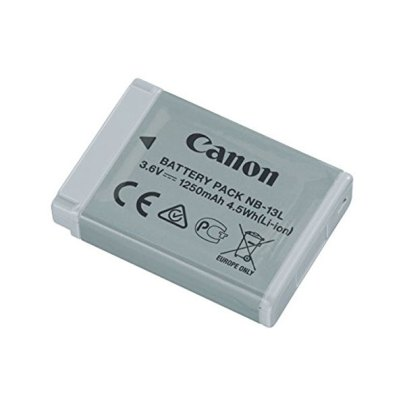 Canon NB-13L Lithium-Ion Battery Pack (3.6V, 1250mAh) Batteries & Power Battery And Charger