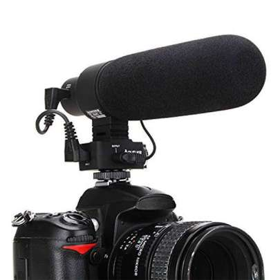 Aputure Camera Microphone V-Mic D2 Audio Wired Shotgun Mics ENG/EFP Aputure