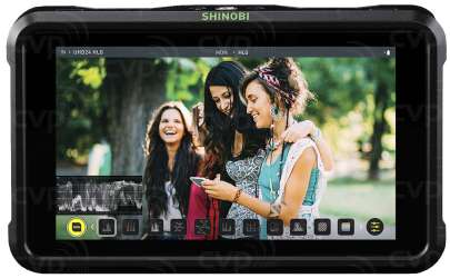Atomos Shinobi SDI 5″ 3G-SDI HDMI In Field Monitor Atomoshbs01 Pro Video Atomos