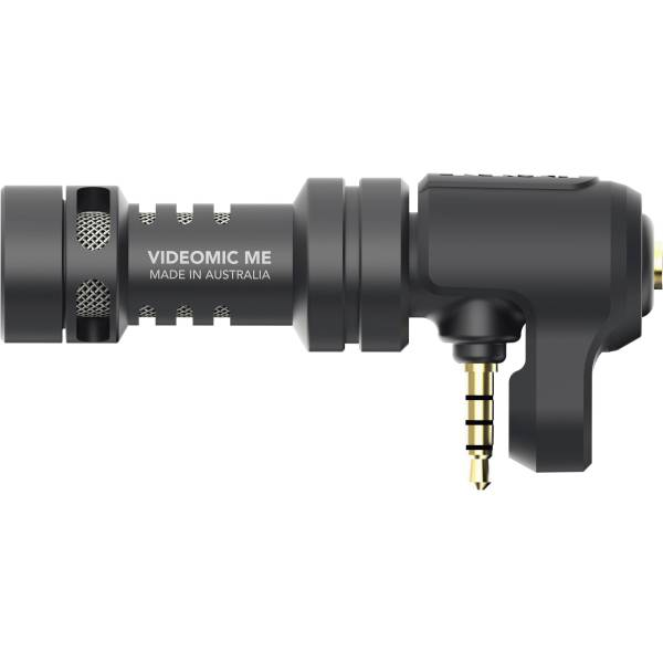 Rode VideoMic Me Directional Mic for Smartphones Audio Wired Shotgun Mics ENG/EFP audio