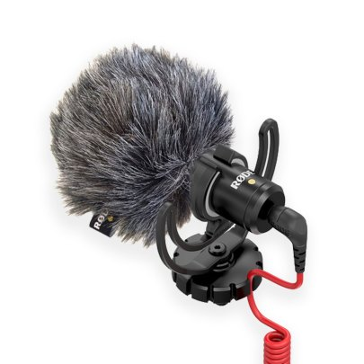 Rode VideoMicro Compact On-Camera Microphone Audio Wired Shotgun Mics ENG/EFP audio