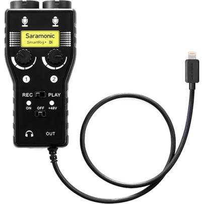 Saramonic SmartRig+ Di Two-Channel Mic Audio audio