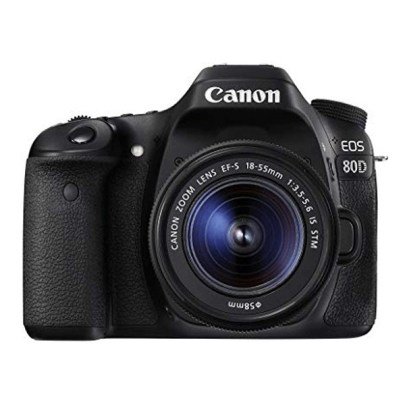 Canon EOS 80D DSLR Camera with 18-55mm Lens Dslr Camera Canon