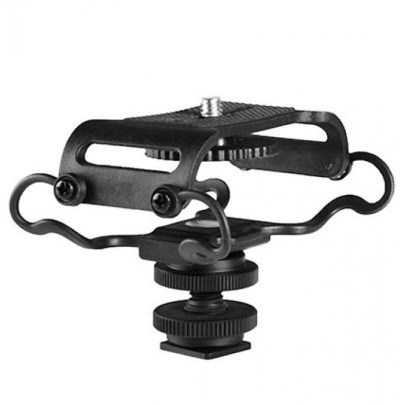 Boya Shock Mount for Camera Recorder, BOYA BY-C10 BY-C10 Universal Microphone and Portable Recorder ShockMount Audio audio
