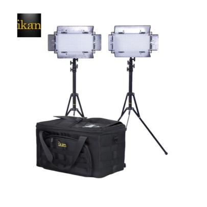 Ikan  KIT WITH 2 X ID508-V2 LED STUDIO LIGHT Continuous Lighting Ikan