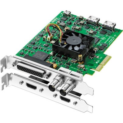 Blackmagic Design DeckLink Studio 4K Capture & Playback Card Pro Video Black Magic