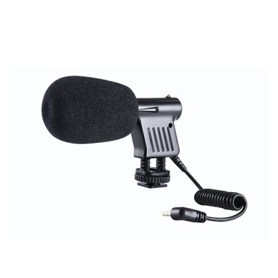 Boya Professional Mini Shotgun Microphone -VM01 Audio Wired Shotgun Mics ENG/EFP audio