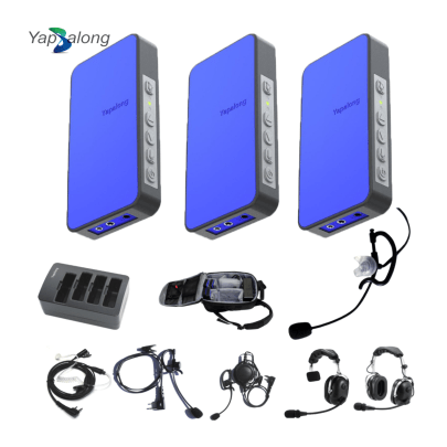 Yapalong 5000 (3-User) Complete Set Intercom Systems Intercom Systems