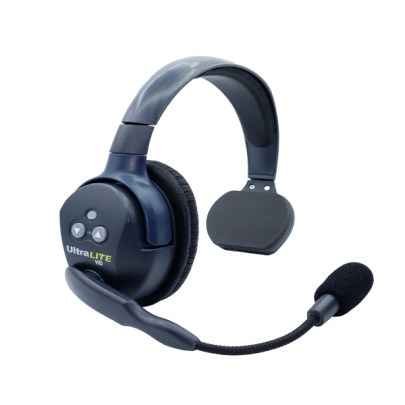 Eartec Ultralite HD Single Master Headset  W/ Rechargable Lithium  Battery Intercom Systems Eartec