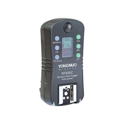 Yongnuo Rf-605N Wireless Lcd Flash Trigger & Shutter Release For Nikon Flash Radio & Optical Slaves Photography