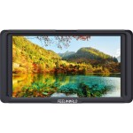 FeelWorld F5 5.0″ Full HD HDMI On-Camera Monitor with 4K Support and Tilt Arm Monitors [tag]