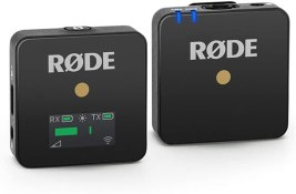 Rode Wireless Go – Compact Wireless Microphone System, Transmitter and Receiver Audio Rode