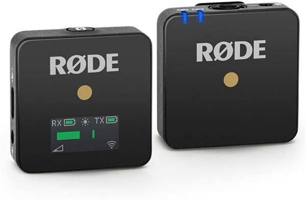Rode Wireless Go – Compact Wireless Microphone System, Transmitter and Receiver Pro Audio Rode