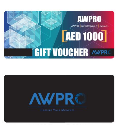 AWPRO Gift Card 1000 AED Featured Products [tag]