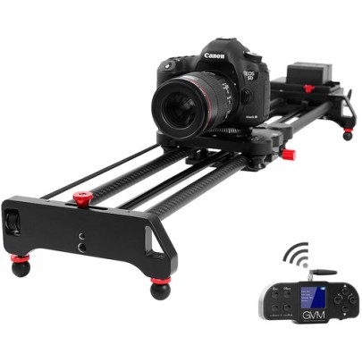 GVM GT-80WD Wireless Carbon Fiber Motorized Camera Slider (31″) with Bluetooth Remote Pro Video GVM