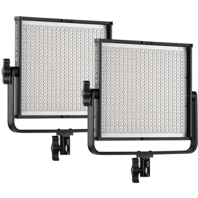 GVM 520LS-B Bi-Color LED 2-Panel Kit Continuous Lighting GVM