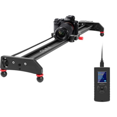 GVM Professional Video Aluminum Alloy Motorized Camera Slider (23″) Pro Video GVM