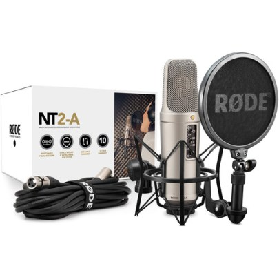 Rode NT2-A Studio Solution Package Large Diaphragm Recording Microphones Rode
