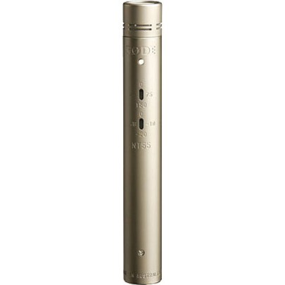 Rode NT55 Compact Condenser Microphone with Interchangeable Capsules (Single Microphone) Pro Audio Rode